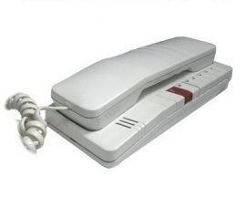 DT 93 2BUS audió és videó rendszerekben alkalmazható audió lakáskészülék 4 FN 211 83/1 fehér