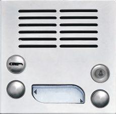 KARAT EV2 eősítőmodul 2BUS audió/videó 4FN 231 07/N INOX