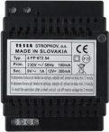 TESLA tápegység BUS2 rendszerhez tápegység 24VDC/250mA 9VAC/0,7A típusa: 4FP 672 57